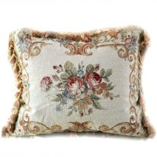 16 x 20 Handmade Wool Needlepoint Petit Point Cushion Cover Pillow Case 12980121