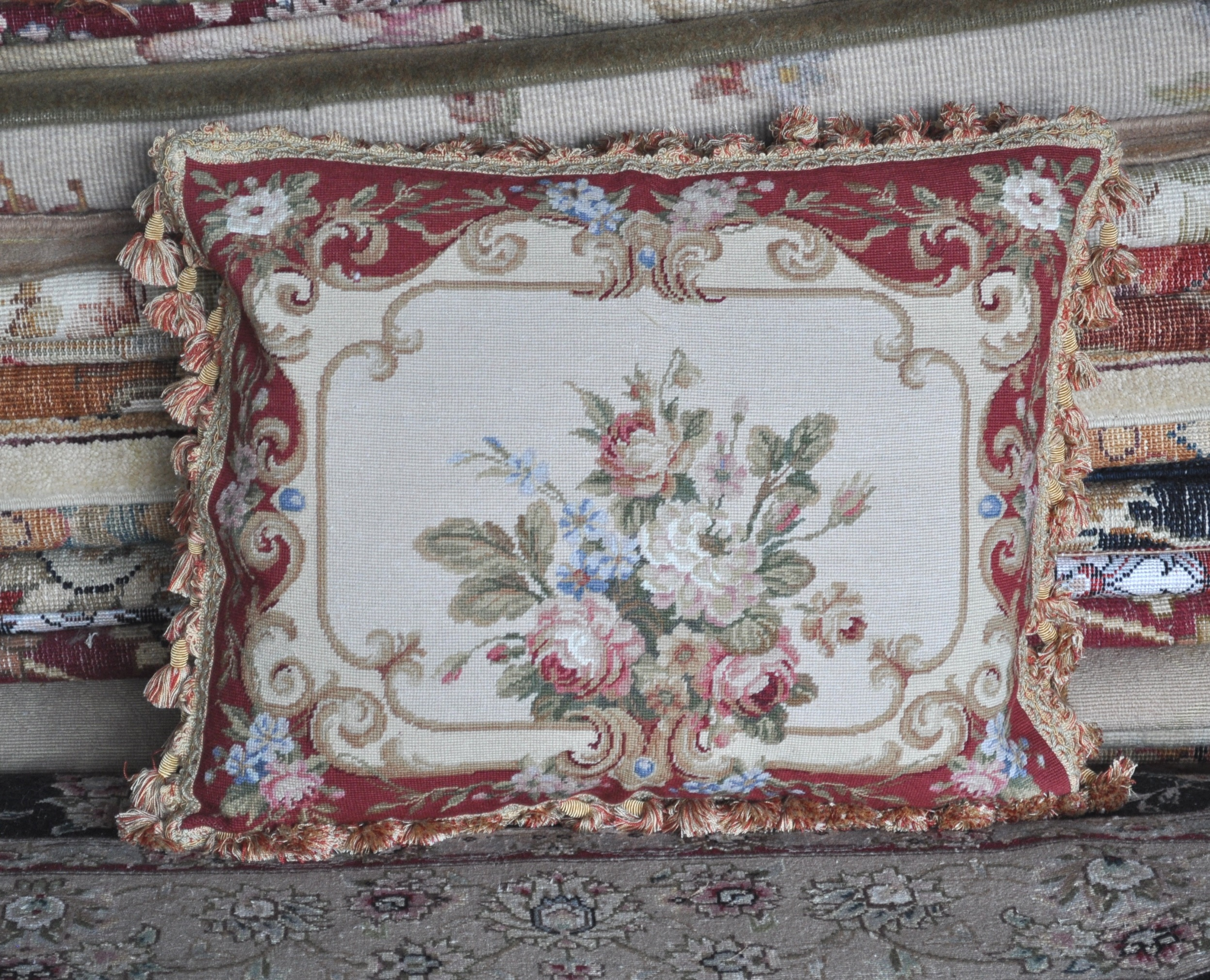 16″x20″ Needlepoint Pillow Cover 12980120
