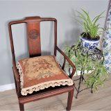 18″x18″ Handmade Wool Needlepoint Rose Bouquet Cushion Cover Pillow Case 12980130