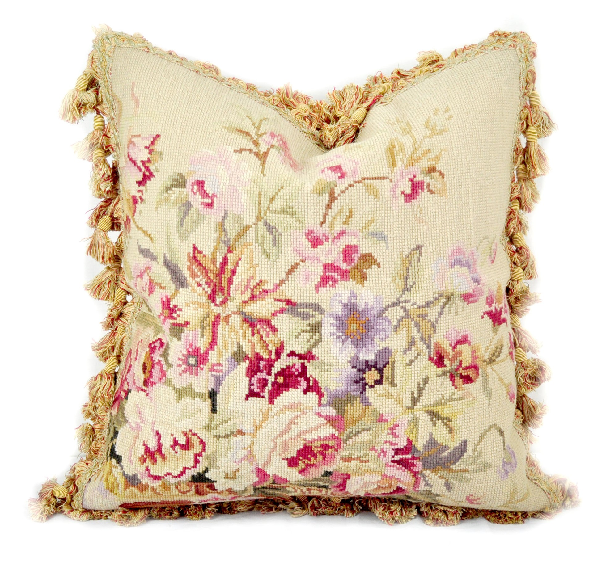 18×18 Needlepoint Pillow Cover 12980126