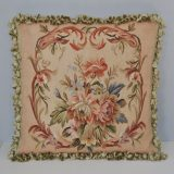 "20"" x 20"" Handmade Antique Reproduction Gobelins Tapestry Wool Aubusson Cushion Cover / Pillow Case 12980012"