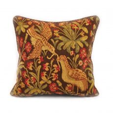 20x20 Antique Reproduction Pair of Birds French Gobelins Tapestry Weave Wool Aubusson Cushion Cover Pillow Case 12980031