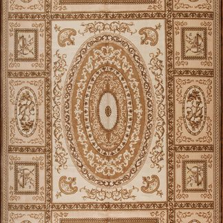 """11' x 16'6"""" Oversize Hand-knotted Thick and Plush Wool French Savonnerie Rug"""