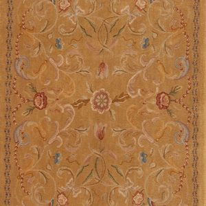 4' x 6' Hand-knotted Thick and Plush Wool French Savonnerie Rug