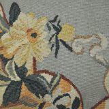 Handmade Aubusson Parrot Pillow