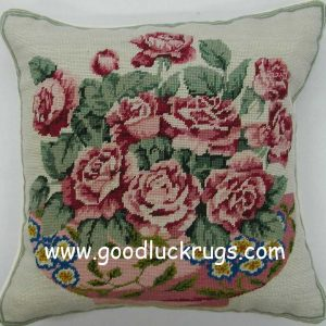 14x14-handmade-wool-needlepoint-petit-point-red-roses-cushion-cover-pillow-case