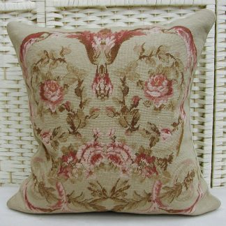 19x19 Handmade Wool Needlepoint Petit Point Cushion Cover Pillow Case