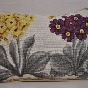 "12"" x 16"" Handmade Wool Needlepoint Hydrangea Cushion Cover Pillow Case"