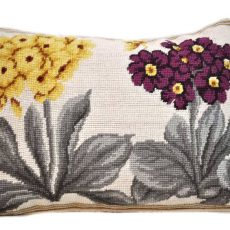 12 x 16 Handmade Wool Needlepoint Hydrangea Butterfly Cushion Cover Pillow Case 12980134