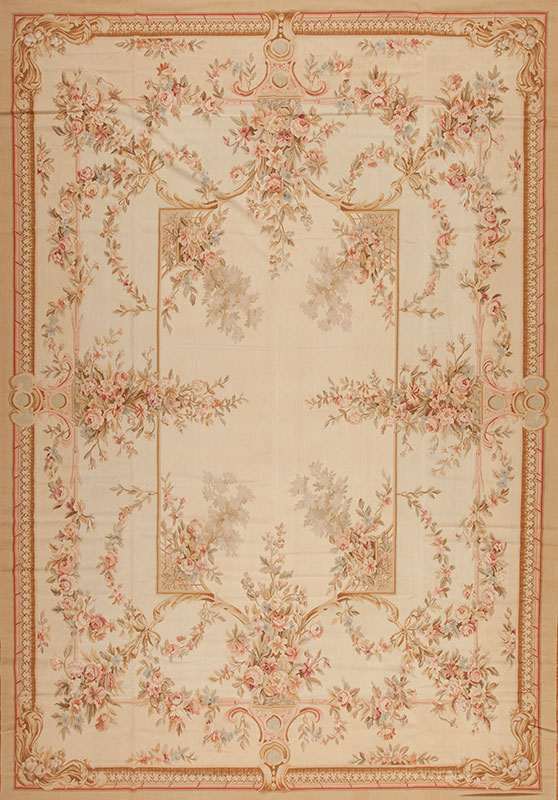 10 X 14 6 Quot Hand Woven Wool French Aubusson Rug