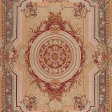 "9'6"" x 13'6"" Hand-woven Wool French Aubusson Rug"
