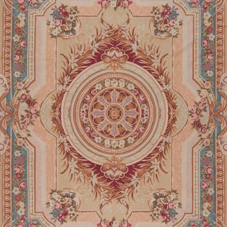 "8'6"" x 11'6"" Hand-woven Wool French Aubusson Rug"