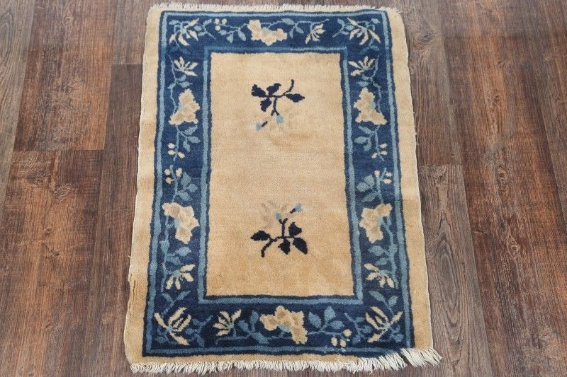 2′ x 2'9 Hand-knotted Wool Antique Chinese Art Deco Nichols Rug 12980504 (1)
