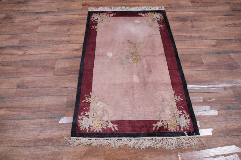3′ x 5′ Hand-knotted Silk Antique Chinese Art Deco Nichols Rug 12980505 (13)