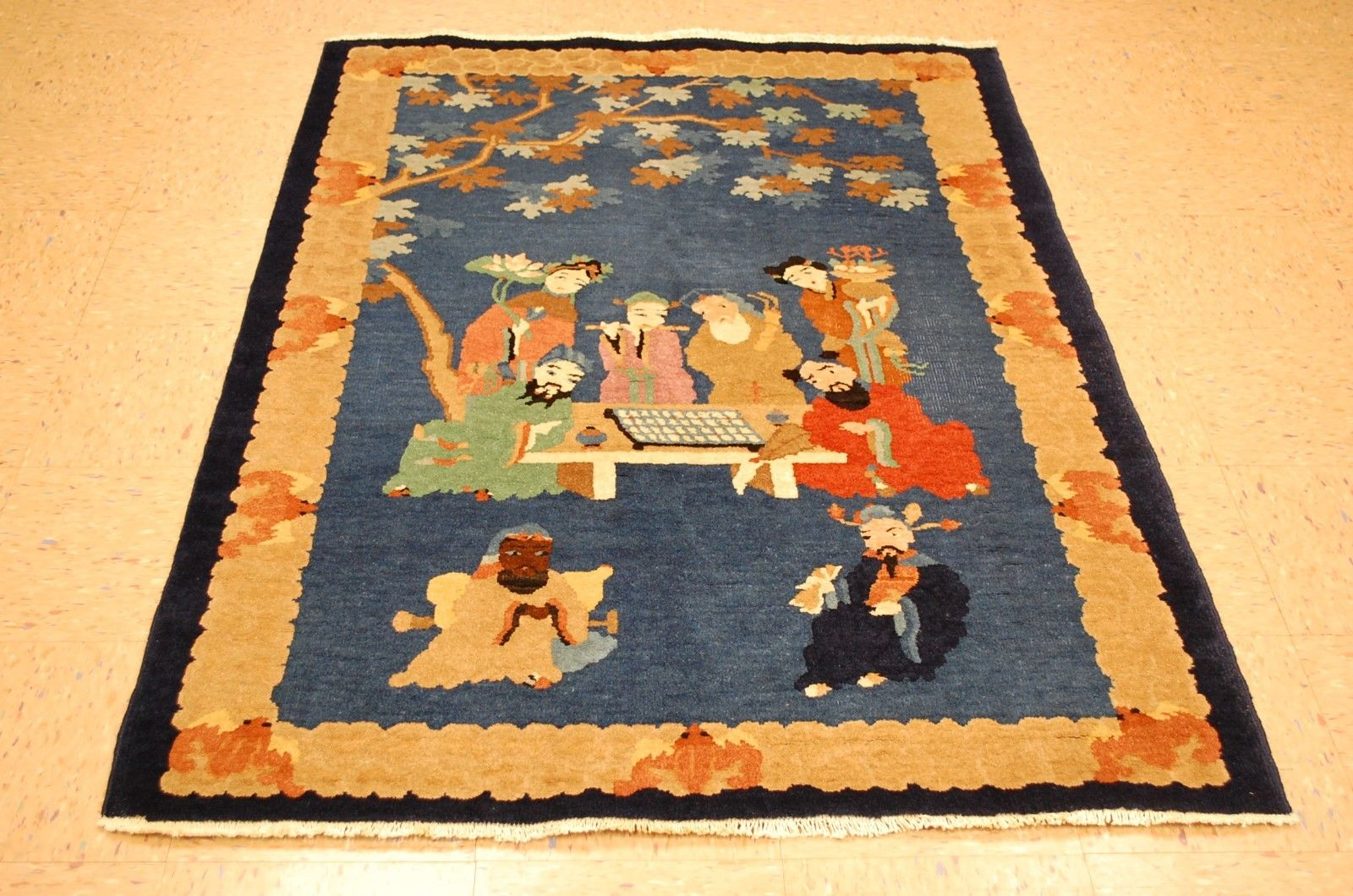 Hand Knotted Circa 1920 S Antique Wool