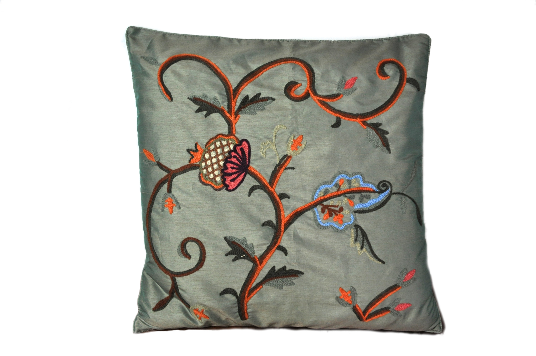 18×18 Floral Decorative Pillow Cushion Cover