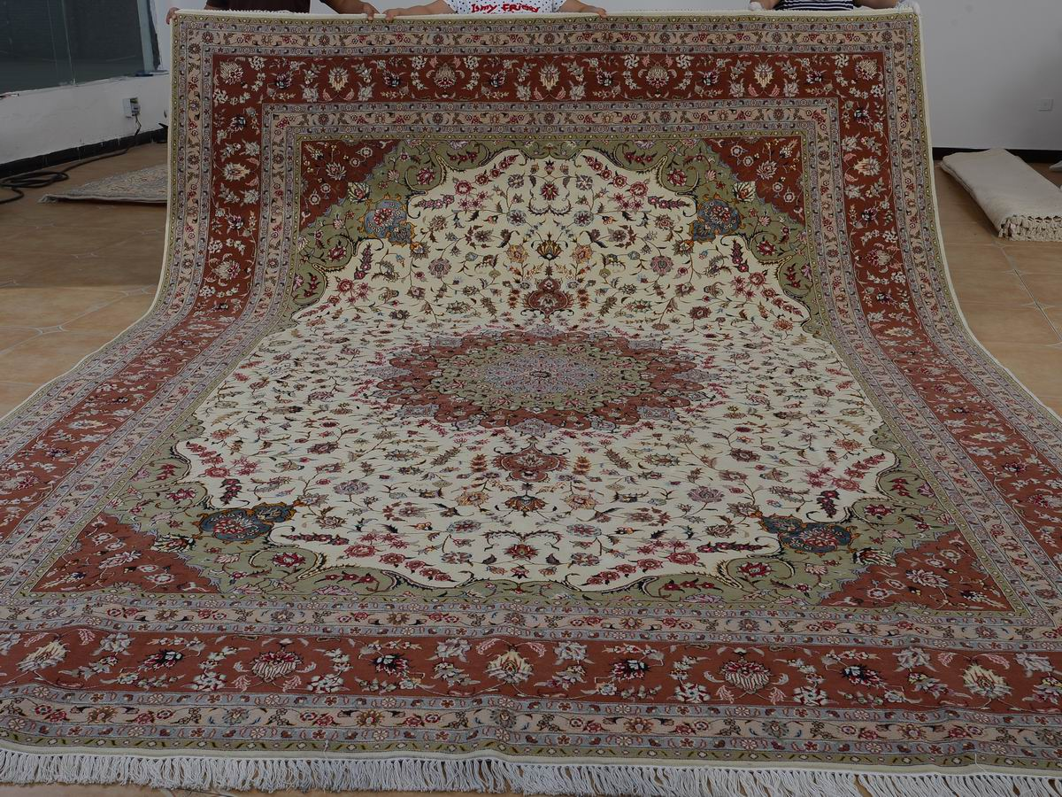 Home Rugs Persian 10 X 14 Hand Knotted Brand New