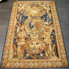 "7'10""W x 10'4""H Aubusson Tapestry 12980793"