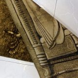"1'6""W x 2'5""H Handmade Wool and Silk Perspolis Persian Tableau Rug Tapestry Wall Hanging 12980832"