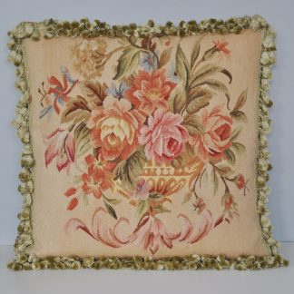 """20"""" x 20"""" Handmade Antique Reproduction Gobelins Tapestry Wool Aubusson Cushion Cover Pillow Case 12980869"""