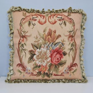 "20"" x 20"" Handmade Gobelins Tapestry Weave Wool Aubusson Pillow Case Cushion Cover 12980879"