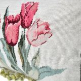 Needlepoint Pillow Close Up