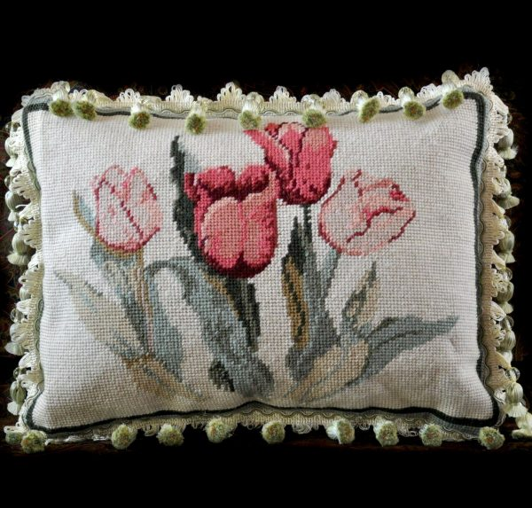 Needlepoint Pillow Front