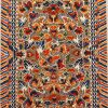 """7' x 9'11"""" Hand-knotted Silk and Metal-Thread Embossed Antique Chinese Imperial Dragon Rug 12980886"""