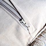 """18""""x18"""" Blue Aubusson Pillow Cover 12980901"""