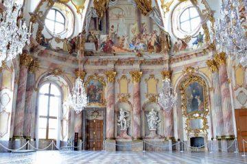 Gold Gilded Rococo Interior