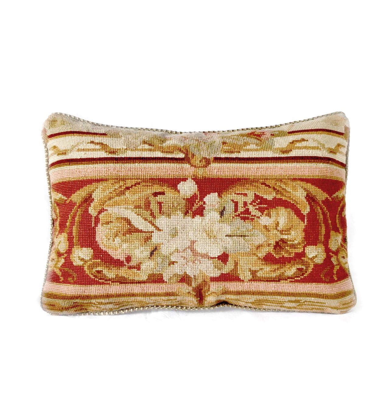 12″x18″ Handmade Wool Needlepoint Cushion Cover Pillow Case 12980892