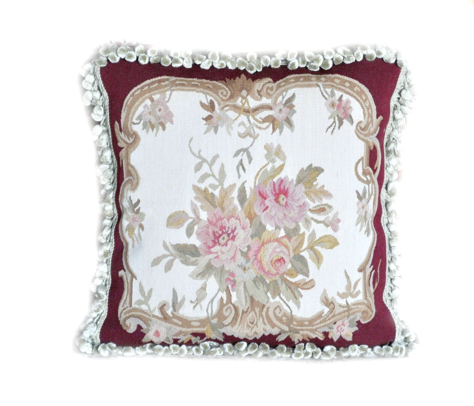 18″x18″ Aubusson Pillow Cover 12980906 (1)