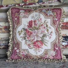 18″x18″ Aubusson Pillow Cover 12980907