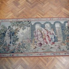 11′6″W x 6′H Angels Hand-woven French Aubusson Tapestry 12980940