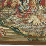 6′9″W x 7′9″H The Audience of the Emperor Handwoven Aubusson Tapestry 12980917