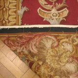 9′W x 12′H Coat of Arms Hand-woven French Aubusson Tapestry 12980920