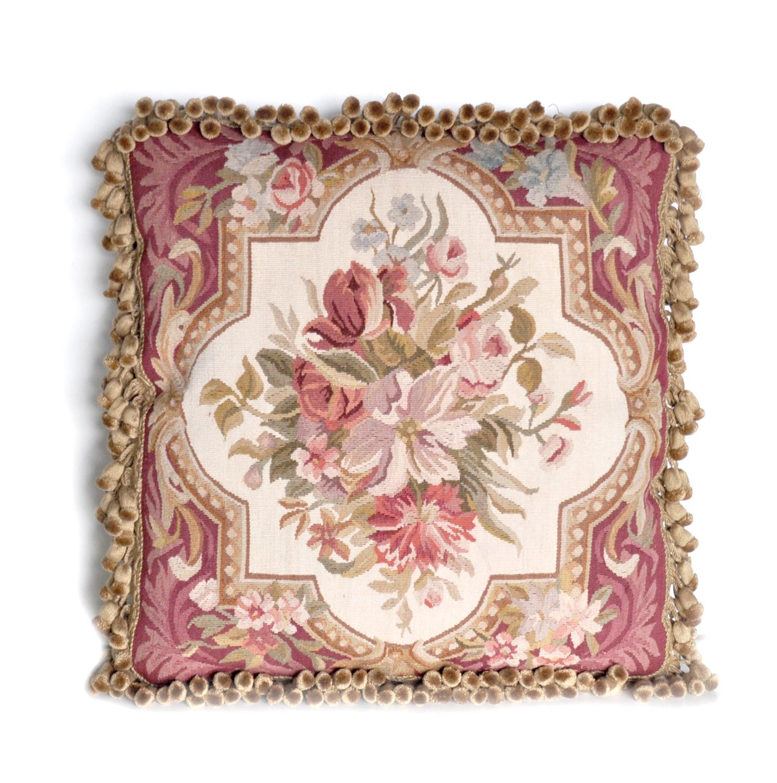 18″x18″ Aubusson Pillow Cover 12980972