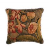 """18""""x18"""" Hand-woven French Gobelins Tapestry Weave Wool Aubusson Cushion Cover Pillow Case 12980978"""