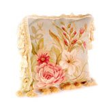 "12""x12"" Hand-woven Aubusson Pillow Cover 12981001"