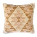 "18""x18"" Hand-woven Wool Kilim Pillow Cover 12980985"