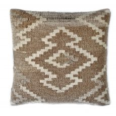 "18""x18"" Hand-woven Wool Kilim Pillow Cover 12980987"