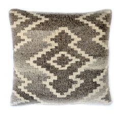 18x18 Hand-woven Wool Kilim Pillow Cover 12980988