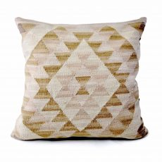 24x24 Hand-woven Wool Kilim Pillow Cover 12981028