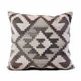 24x24 Hand-woven Wool Kilim Pillow Cover 12981030