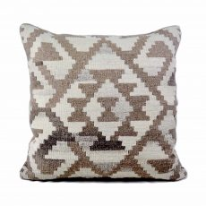24x24 Hand-woven Wool Kilim Pillow Cover 12981032