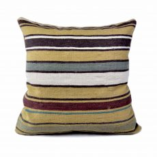 "24""x24"" Hand-woven Wool Kilim Pillow Cover 12981035"