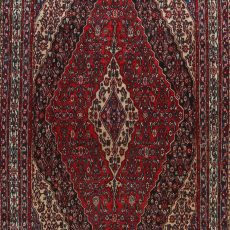 9′ x 11′9″ Hand-knotted Vintage Persian Hamadan Rug 12981055