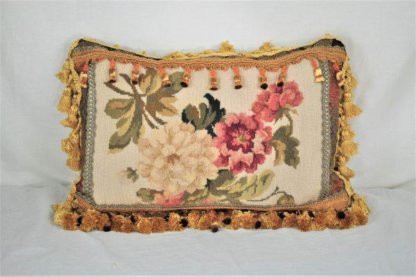 14″x22″ Custom Made Needlepoint Pillow 12981065