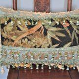 16″x24″ Custom Made Bamboo Needlepoint Pillow 12981070