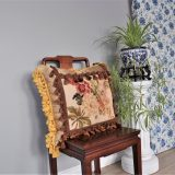 22″x22″ Custom Made Needlepoint Pillow 12981063